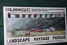 Golden Open Landscape Slow-drying Acrylic Paints Set