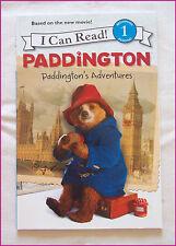 PADDINGTON - I Can Read Beginning Reading 1 - Learner PADDINGTONS ADVENTURE  New
