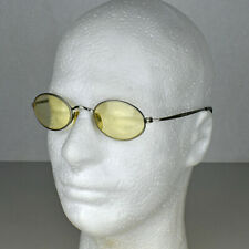 Tommy Hilfiger Yellow Tinted Oval Lens Eyeglasses Frames TH151 161 45-21-145