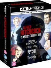 The Alfred Hitchcock Classics 8 Disc Collection 4k UHD Blu-ray 2020 Region
