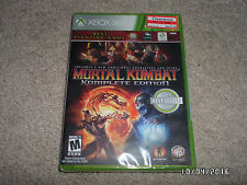 Mortal Kombat - Complete Edition (Microsoft Xbox 360, 2012) New & Factory Sealed