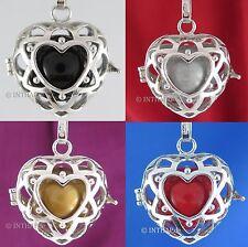 Markenlose Liebe & Herzen-Anhänger ohne Steine aus echtem Edelmetall für Damen