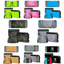 For Nintendo Switch Console Joy-con Protective Vinyl Skin Decal Sticker full set