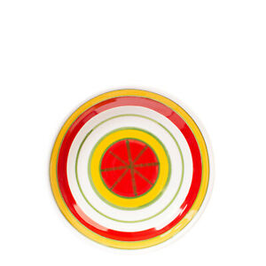 CERAMICHE DE SIMONE PROCIDA Soup Plate HANDMADE Ceramic Round Made in Italy