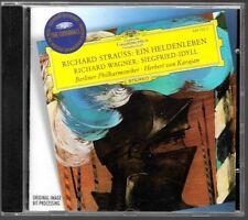 CD ALBUM / RICHARD STRAUSS - EIN HELDENLEBEN , RICHARD WAGNER - SIEGFRIED