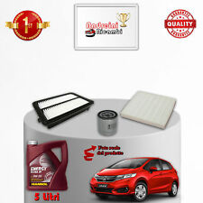 Replacement Filter Kit+Oil Honda Jazz IV 1.3 75KW 102CV from 2015 ->