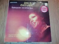 CLEO LAINE * THIS IS CLEO LAINE ..SHAKESPEARE AND ALL THAT JAZZ * VINYL LP EX/EX