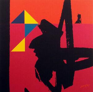 "Matthew Ruddy ""Monument"" Original Paper Collage abstract 1982 fine art OBO"