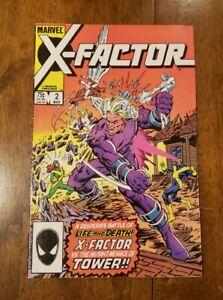 X-Factor #2 (Mar 1986, Marvel) - 1st app of Artie Maddicks - key issue