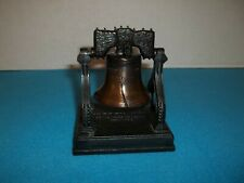 1776 Replica Liberty Bell - Penncraft Die Cast Bronze Metal Ringing Bell Nib
