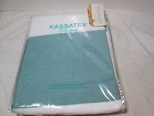 New Kassatex Fine Linens HAMPTONS STRIPE Fabric Shower Curtain 72x72