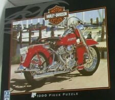 Harley Davidson Motorcycle 1000 piece Jigsaw Puzzle Complete Fx Schmid
