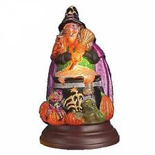 Merck Old World Christmas Witch with Cauldron Light 2015