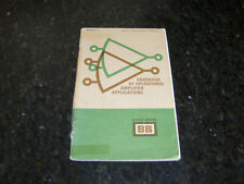 New listing Handbook of Operational Amplifier Applications by Burr-Brown 1963