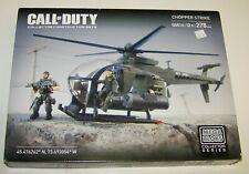 Call of Duty 06818 Mega Bloks Chopper Strike New NIB Sealed 278 Pieces Rare OOP