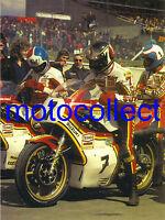 Sheene.Hennen.Parrish Suzuki RG500..Brands Hatch 1977 - A3 Print..Free Postage