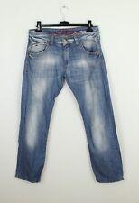 TOMMY HILFIGER light blue man cotton jeans pants trousers size 34