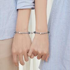 1 Paar Partner Armbänder Partnerarmband Schmuck Geschenk für Liebhaber Freunde