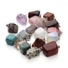 20pcs/lot Mixed Natural Stone Artificial Irregular Opal Pendants Fit Necklace