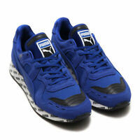 NEW MEN'S PUMA RS-100 CASUAL ATHLETIC SHOES SNEAKERS SZ 14 BLUE WHITE BLACK