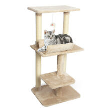 New listing 39'' Cat Tree Climber Cat Activity Tower with Scratching Posts for Cats Kittens