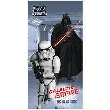 Star Wars Stormtrooper telo in velluto asciugamano telo da bagno 75 x 150cm