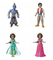 DISNEY ALADDIN MOVIE HASBRO ACTION FIGURES TOYS DOLLS  COLLECTIBLE SET 4