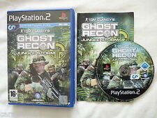 PS2 Playstation 2 Ghost Recon Jungle Storm L@@K Buy It Now & FREE POSTAGE