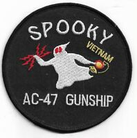 USAF United States AC-47 Gunship Spooky Puff, the Magic Dragon Patch NEW!!!