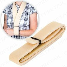 ADJUSTABLE FOAM ARM SLING Universal Size Broken Sprained Muscle/Shoulder/Elbow