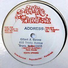 """ROOTS UPRISING 12"""" Jammin (Master Blaster) TOP RANKING VG++ vinyl #1087"""