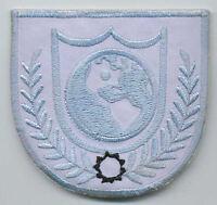 "Hook Fastener Armageddon Movie Roughnecks EMBROIDERED PATCH Badge  D:3.5/"" 8,9cm"