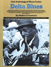 Delta Blues Oak Anthology Of Blues Guitar Learn to Play Guitar TAB Music Book