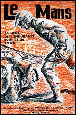 Le Mans 1960 Race poster print A3