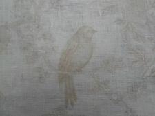 Ralph Lauren Curtain Fabric 'Marlowe Floral' Sheer Voile 3.6 METRES Alabaster