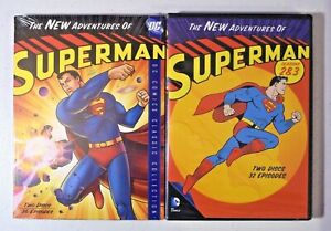 THE NEW ADVENTURES OF SUPERMAN (1966 - 1969) COMPLETE SERIES Bundle DVD NEW