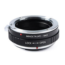 AF-M4/3 Adapter Rings for Sony A AF Alpha Minolta MA lens to Micro 4/3 Cameras