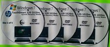 HP TouchSmart 320-1020m Factory Recovery Media 5-Discs Set / Win7 Home 64bit