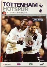 TOTTENHAM (SPURS) v CHARLTON ATHLETIC 2006-07Programme