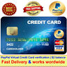 VCC Virtual Credit Card For Paypal Verification | $2 balance | Fast Delivery
