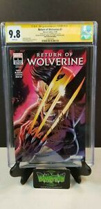 RETURN OF WOLVERINE #1 NYCC VARIANT CGC SS 9.8 SIGNED J. SCOTT CAMPBELL NM/MT