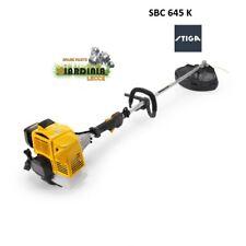 DECESPUGLIATORE STIGA SBK 645 K con motore KAWASAKI cc 45,4