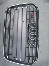Audi S6 4G original grille A6 C7 bumper Aluminium with PDC. OEM, lightly used.
