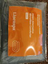 Reversible Down Alternative Quilted Comforter Corner Duvet Hypoallergenic Queen