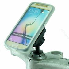 TiGRA MountCase with RainGuard for Galaxy S6 Edge & 12mm Motorcycle Stem Mount