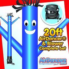 New listing Blue Air Dancer ® & Blower 20ft Sky Dancer Complete Full Set