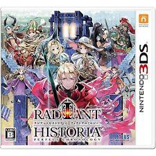 NINTENDO 3DS Atlus Radiant Historia Perfect Chronology JAPANESE VERSION