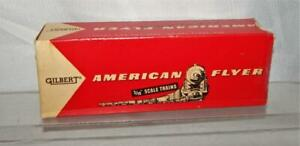 BOX ONLY American Flyer 24619 Deluxe Bay window Caboose lighted 1958 postwar S