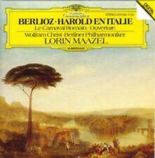 Berlioz: Harold in Italy, Roman Carnival Overture / Lorin Maazel & BPO / DGG CD