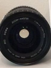 Sigma Lens  Zoom-Master 1:2,8~4 F=35-70mm  Multi-Coated Lens